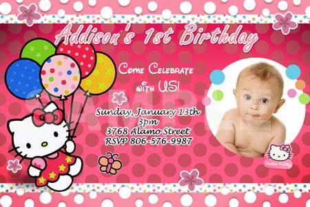 Hello Kitty Invitation Card Orderecigsjuiceinfo - Sample birthday invitation hello kitty